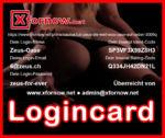 Xfornow.net Erotic Portal - Login-Card